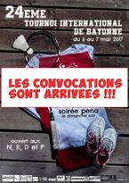 24ème Tournoi International de Bayonne