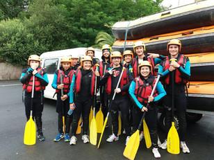 Descente en Rafting à Itxassou