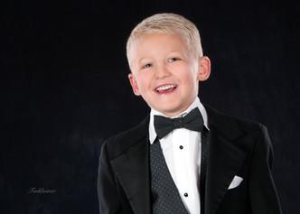 Fine Portrait of Little Boy
