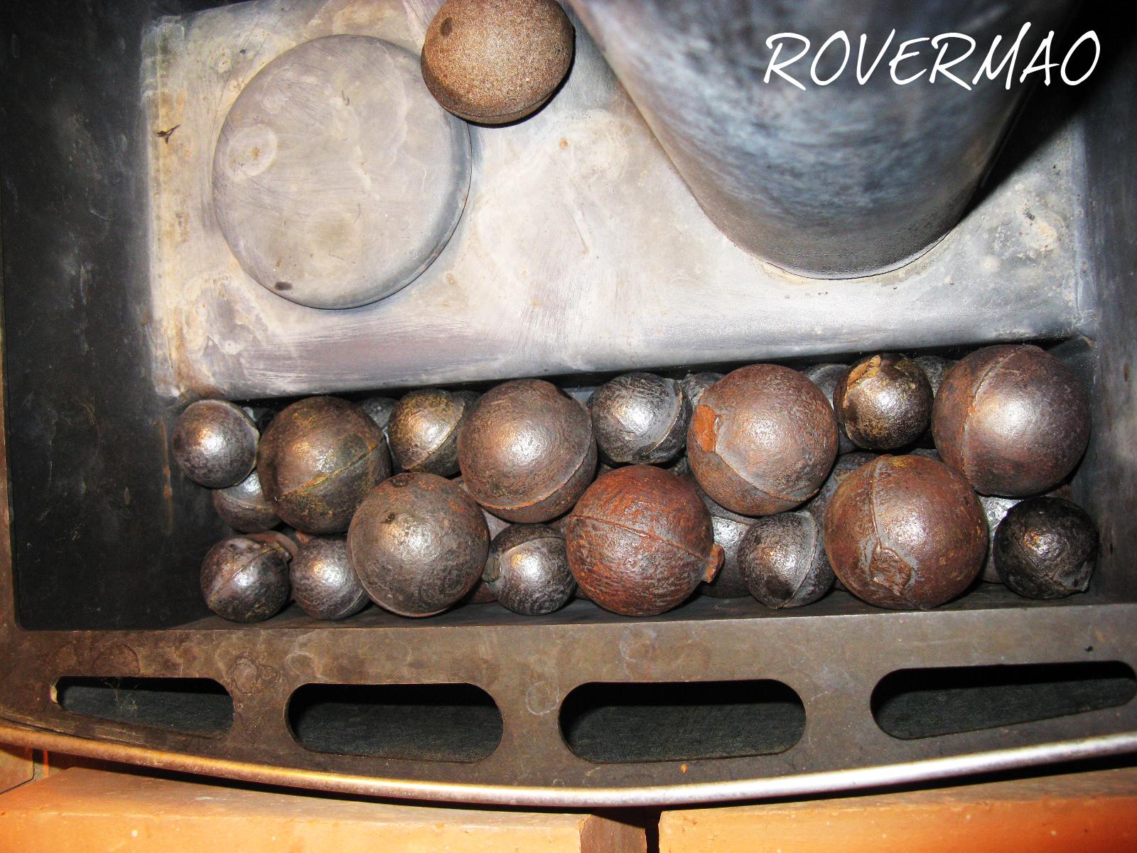 12 продолжение закладки шаров в печной бункер