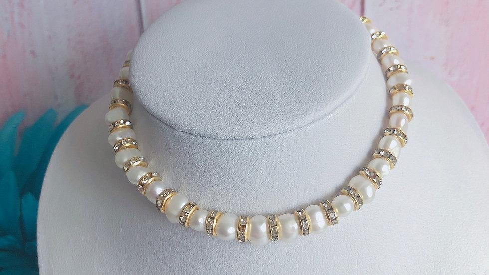 Handmade Fresh Water Pearl Bridesmaid / Bridal Necklace