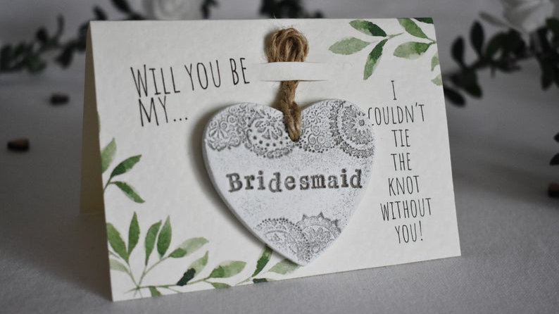 Will You Be My Maid Of Honour / Bridesmaid / Flower Girl Proposal Gift