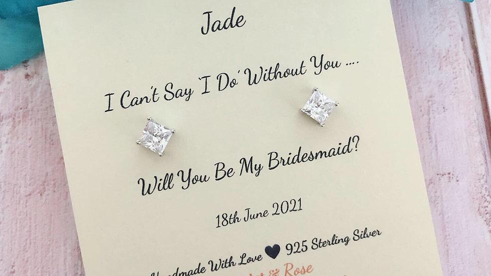 Will You Be My Bridesmaid? Bridesmaid Proposal Gift