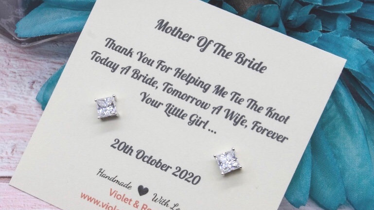 Mother Of the Bride Thank You Gift