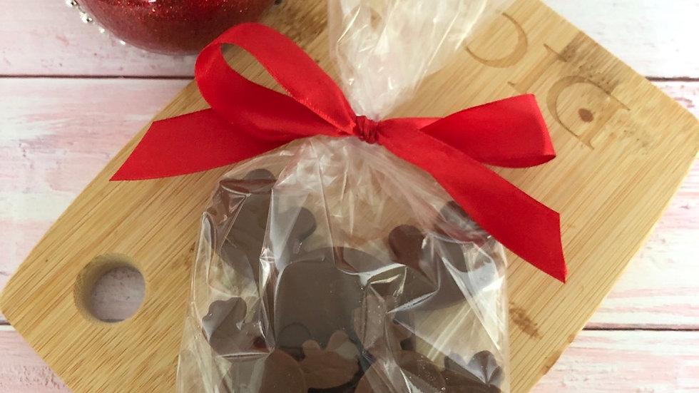 Handmade Belgian Chocolate Rudolph Chocolate Gift