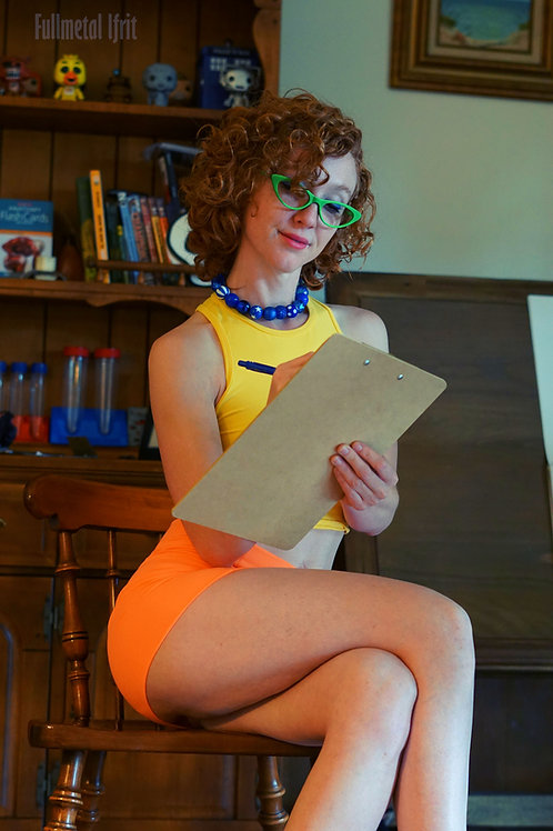 Janine Melnitz (The Real Ghostbusters Cosplay)