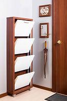 обувной шкаф четыре секции