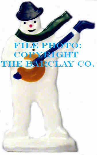 GF-027: Snowman Playing Banjo