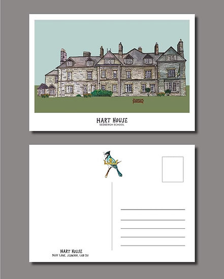 Hart House Postcard (Pack of 10)