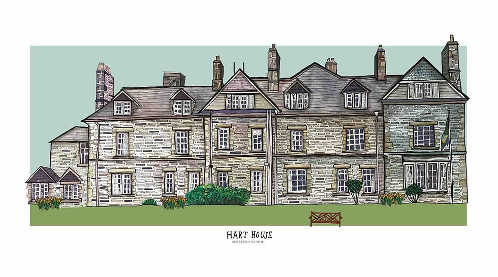 Hart House Print