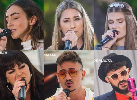 Malta | First 6 Live Show Finalists Announced