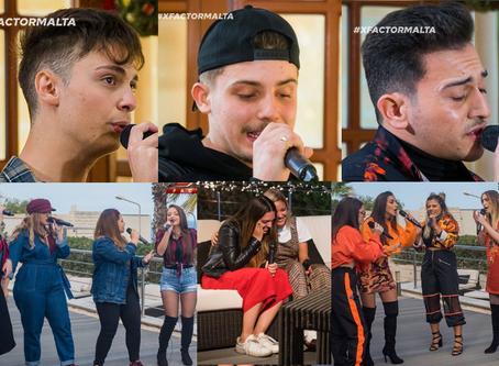 Malta | Second Batch of  X Factor Malta Finalists Revealed