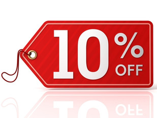 Get 10% off when you Checkout!!