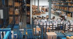 Logistikpersonal im Versandzyklus