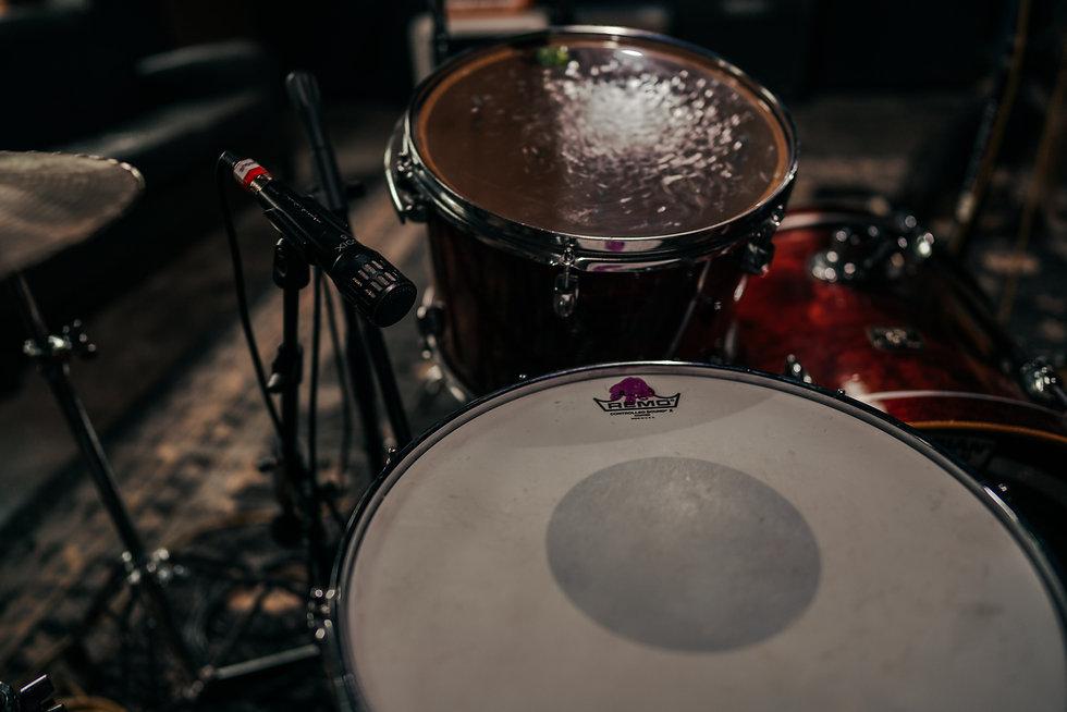 Drum Recording, Gretsch Drums