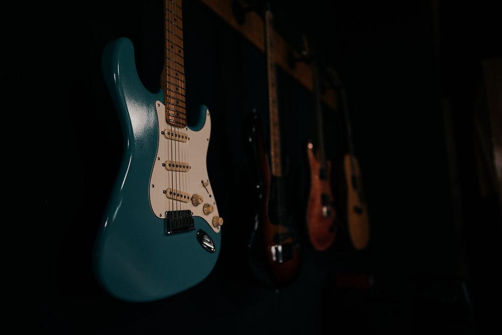 Custom Built Stratocaster, Guitars Available