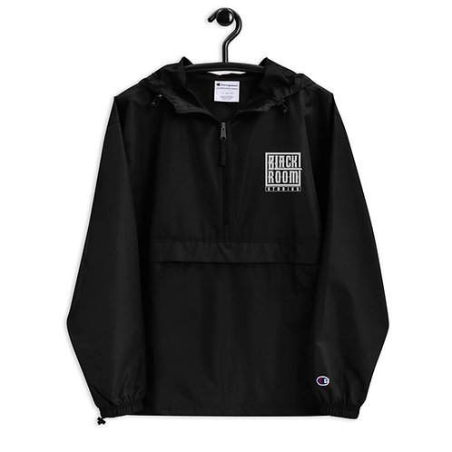 Embroidered Champion Packable Blackroom Jacket