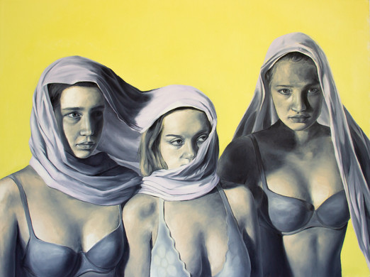 Oil on Canvas 48 x 36 in.