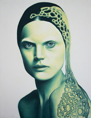 Acrylic on Canvas 18 x 12 in.