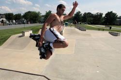 Chuck Getting Air