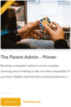 The Parent Admin Primer course img