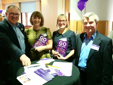 'Go Beyond' Book Launch
