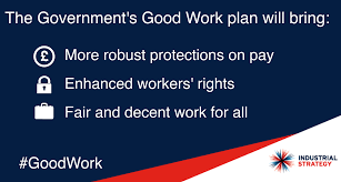 Government Publishes Good Work Plan