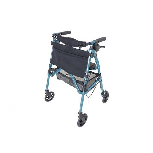 EZ Fold 'N Go Rollator (Black Walnut, Regal Rose or Cobalt Blue))