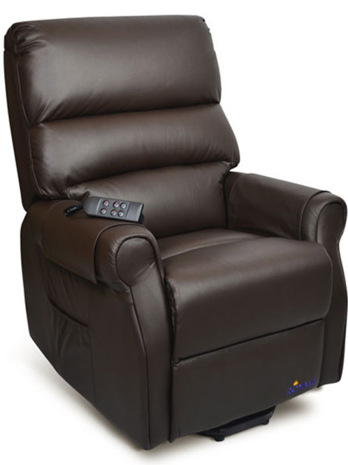 Royale Mayfair Luxury Electric Recliner Lift Chair Premium Leather