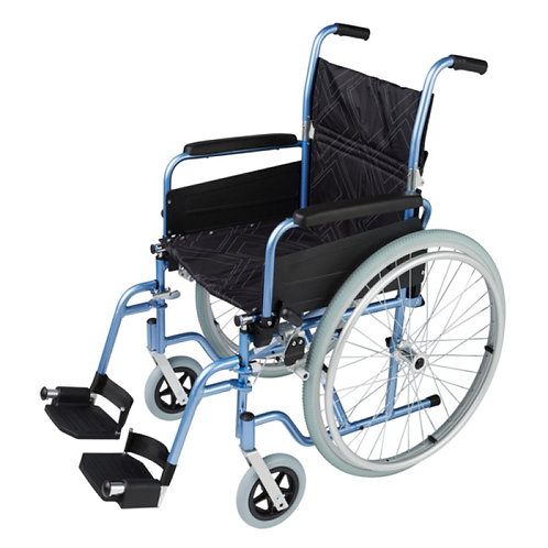 Omega SP1 Self-Propelling Wheelchair (Blue/Gold/Red)