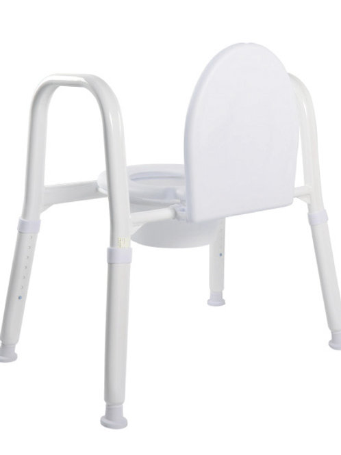 Over Toilet Aid - Aluminium (with Lid) - Hero Medical 150kg (Folding/Collapsible