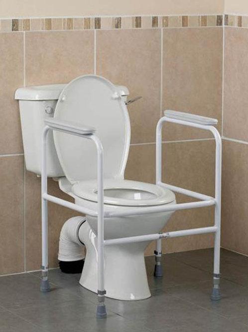 Toilet Surround - Aluminium Hero Medical 205kg (Collapsible)