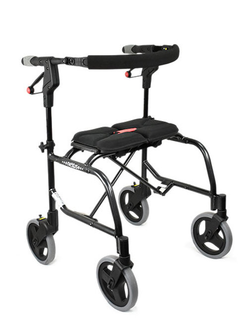 Seat Walker - Outdoor Humancare Nexus 3 Black 150kg with Soft Bag (Cable-Free Te