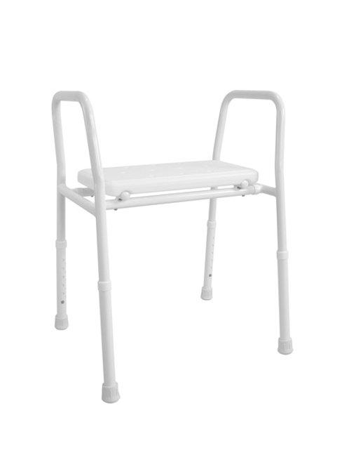 Shower Stool - Aluminium Non-Padded Hero Medical 205kg