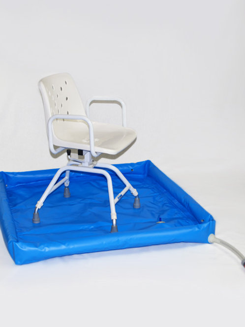 Shower Tray - Royale Medical 110x110cm Portable
