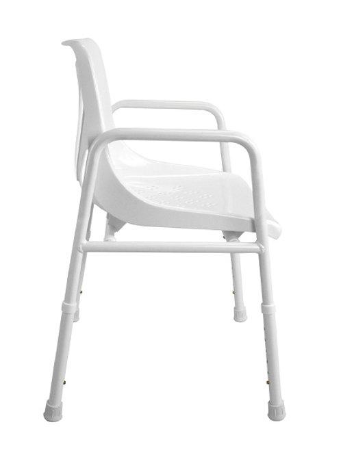 Shower Chair - Aluminium Hero Medical 115kg (Folding/Collapsible Portable)