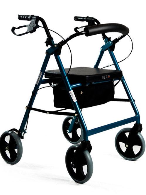 Seat Walker - 8 inch Std Blue 135kg - Hero Medical