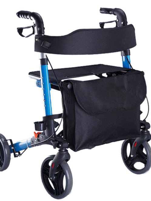 Seat Walker - Travel Lite Portable Outdoor Seat Walker with Seat and Bag + Crutc