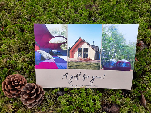 1-Night stay in a Standard room - Gift certificate