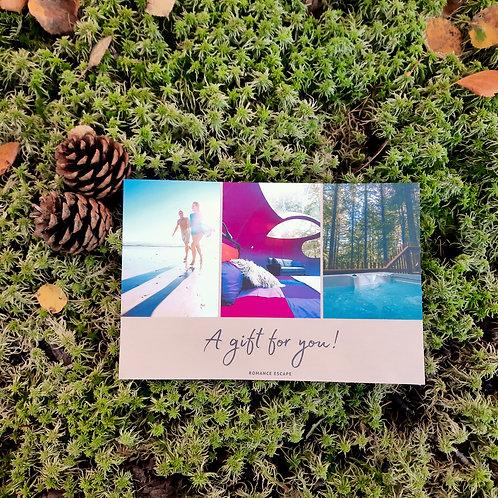 Romance Escape (1 night Deluxe bubble) - Gift certificate