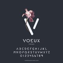 VOEUX TYPEFACE