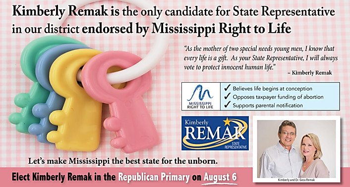 Kimberly Remak - Right to Life Endorsement (b)