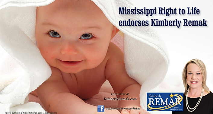 Kimberly Remak - Right to Life Endorsement