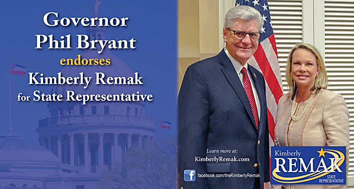 Kimberly Remak - Governor Phil Bryant Endorsement