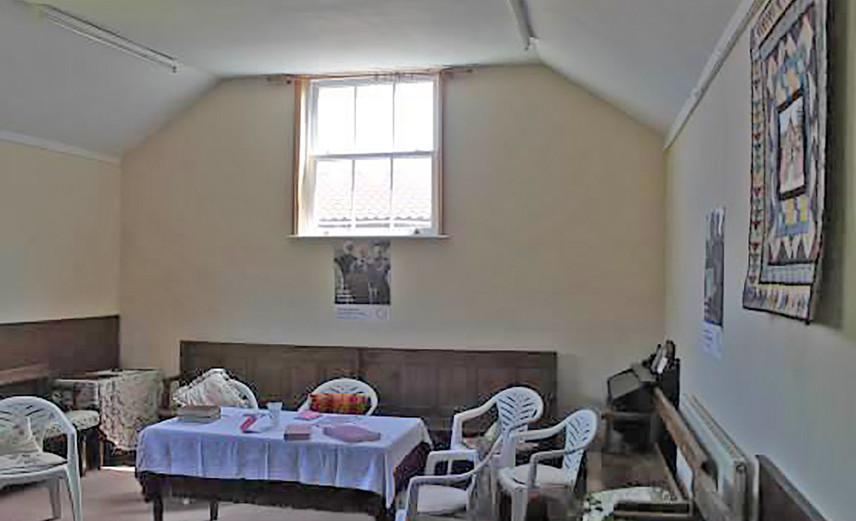 Interior View - Pakefield Meeting House