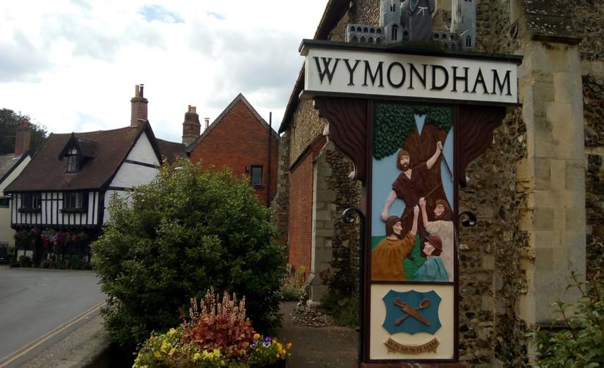 Wymondham Town Scene © Lynne White