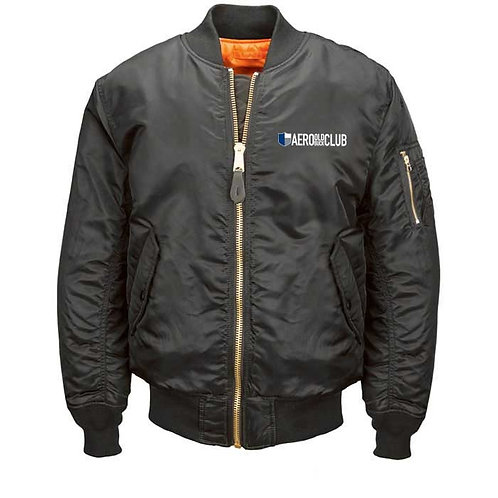 FLIGHT JACKET - Aero Black