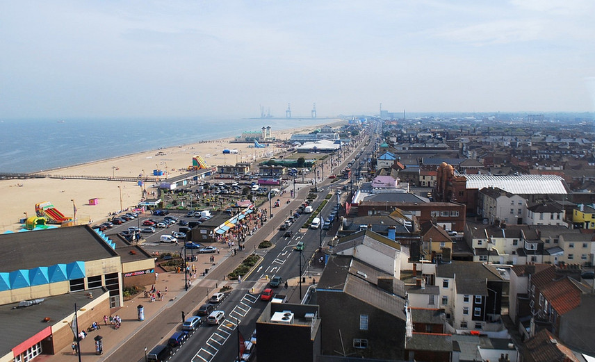 Aerial View of Great Yarmouth © Norfolkadam