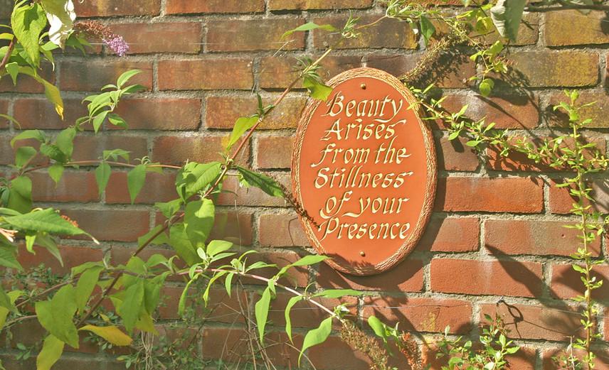 Wall Sign - Aylsham Meeting House