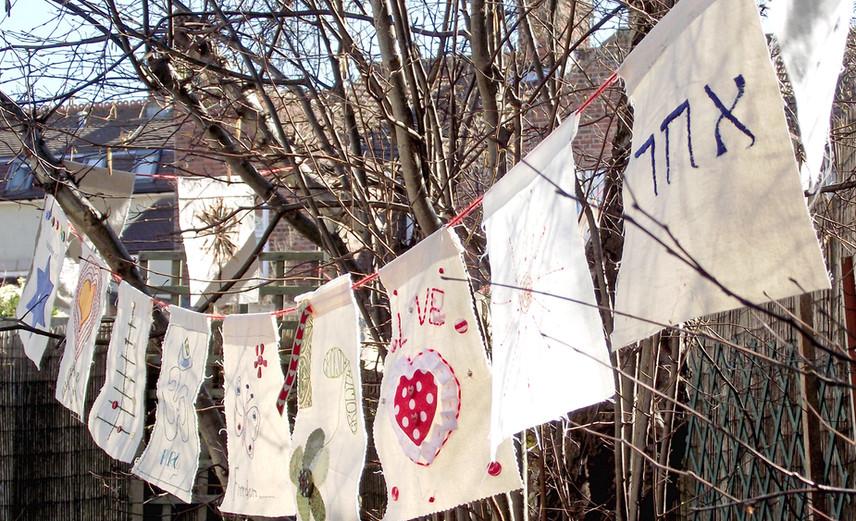 Prayer Flags - Sheringham Meeting House © Bob Ward